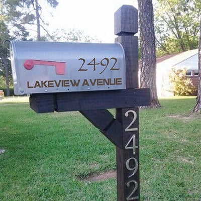 Mailbox Decal - The Anvil (1726500634670)