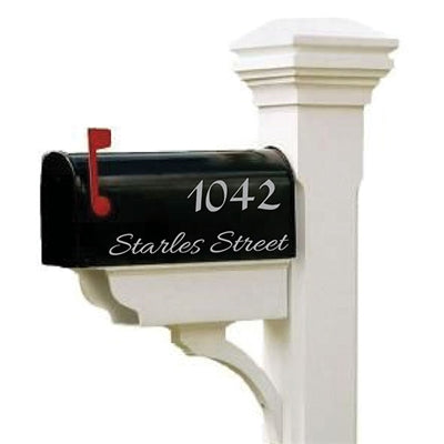 Mailbox Decal - The Lisa