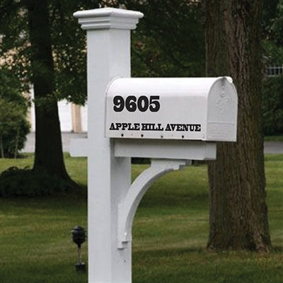 Mailbox Decal - The Apple Grove