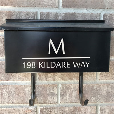 Wall Mount Mailbox Decal - The Kildare