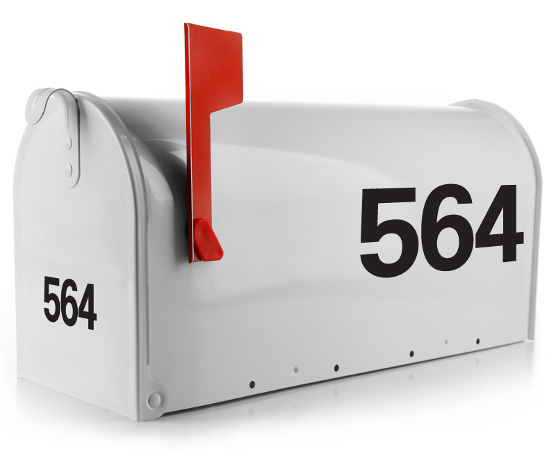 Mailbox Decal - Blocked Out