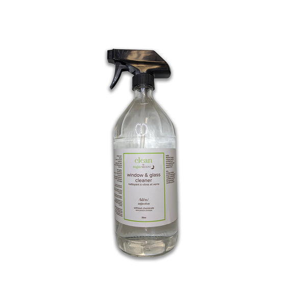 Clean by Sugarmoon - Window and Glass Cleaner 32oz