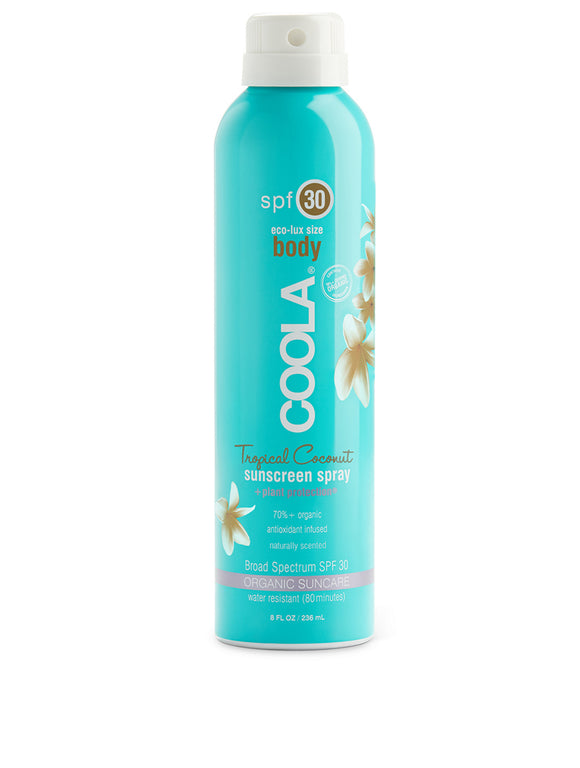 Coola Body SPF Tropical Coconut Sunscreen Spray