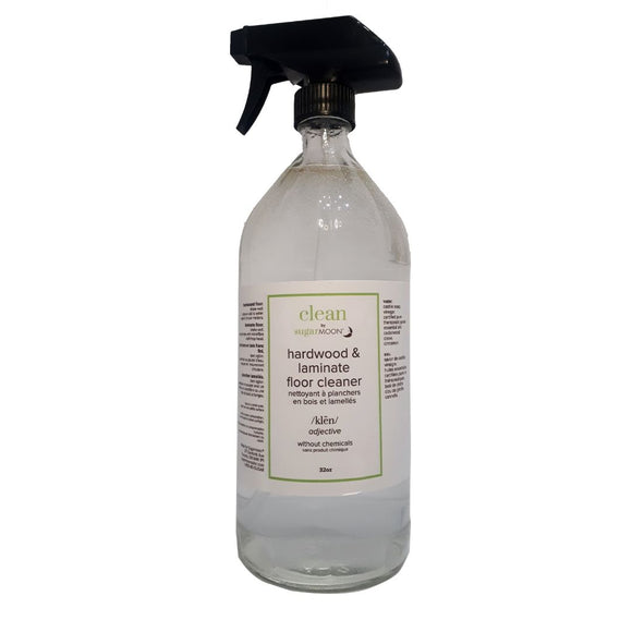 Clean by Sugarmoon - Hardwood and Laminate Floor Cleaner