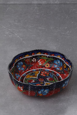 EXCLUSIVE HANDCRAFTED EMBOSSED 3-PIECE  BEKTASI BOWL