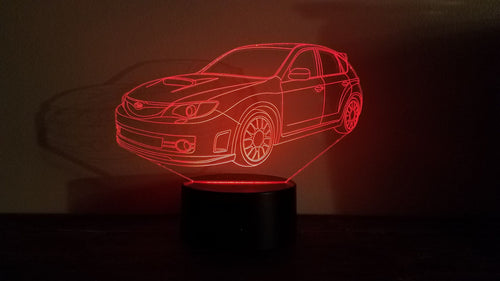Subaru LED Display