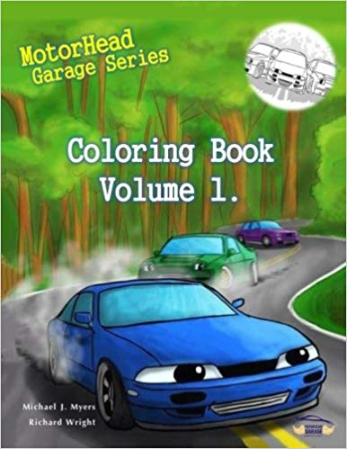 Motorhead Garage Coloring Book