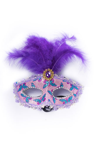 Masquerade Mask - Purple and Pink