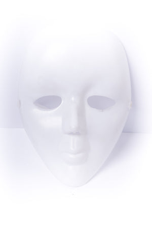 White Face Mask