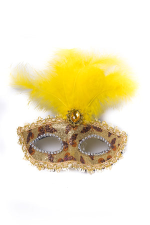 Masquerade Mask - Yellow
