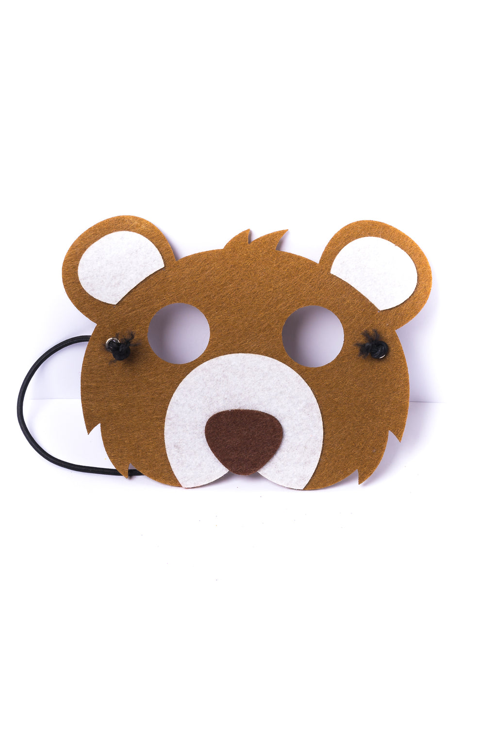 Kids Bear Felt Mask