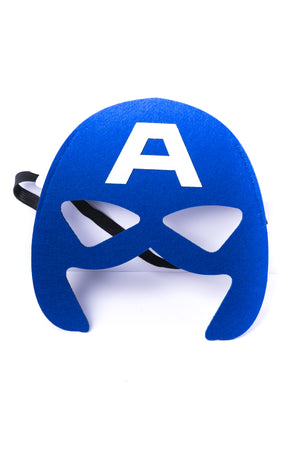 Kids Captain America Felt Mask