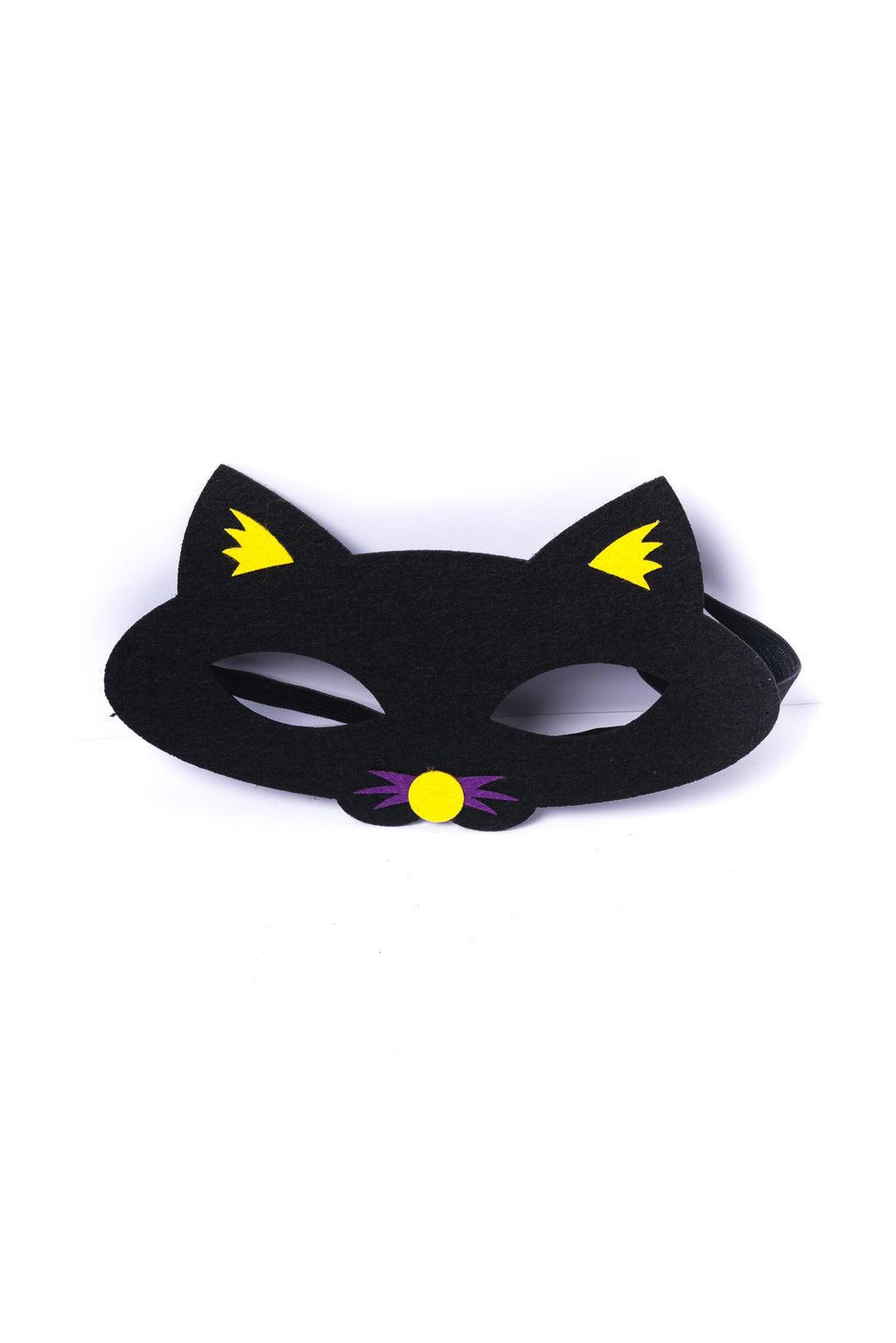 Kids Black Cat Felt Mask