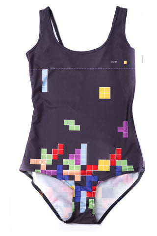 Tetris One Piece Swimsuit