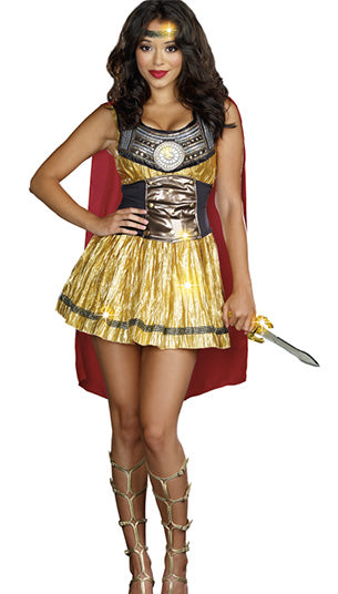 Golden Gladiator Costume