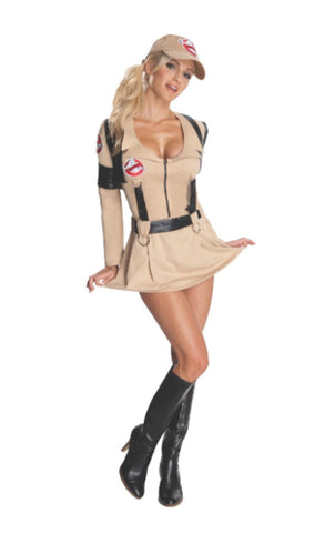 Women's Ghostbuster Dress Costume