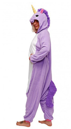 Purple Unicorn Kigurumi Onesie