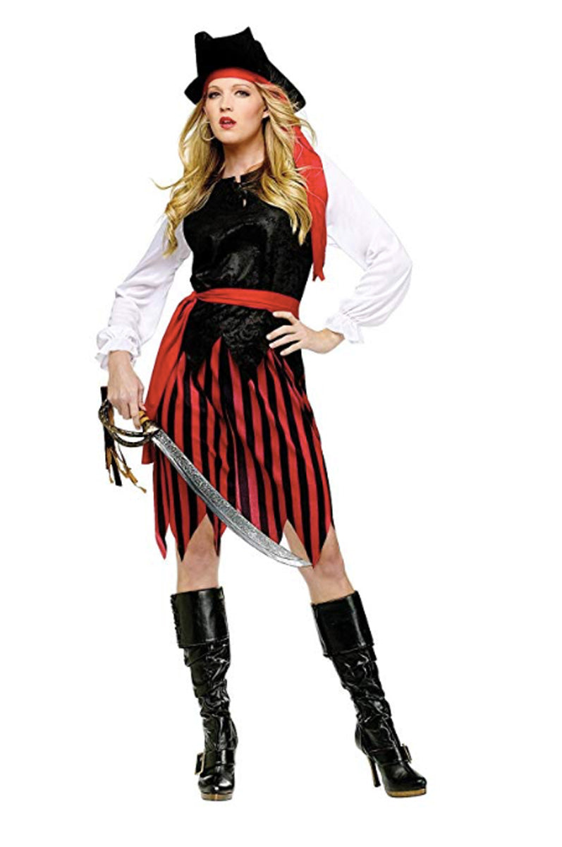 Women's Caribbean Pirate Costume