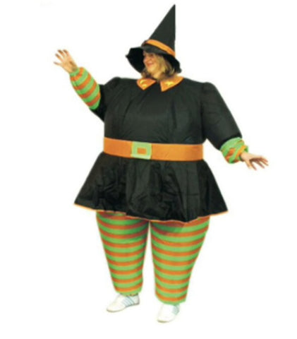 Inflatable Witch Costume