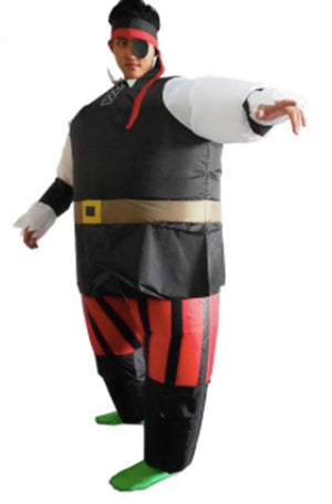 Inflatable Pirate Costume