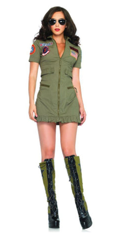 Women's Top Gun Costume