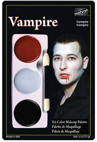 Tri Color Makeup Palette - Vampire