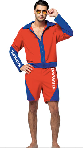 Baywatch Male Lifeguard Costume