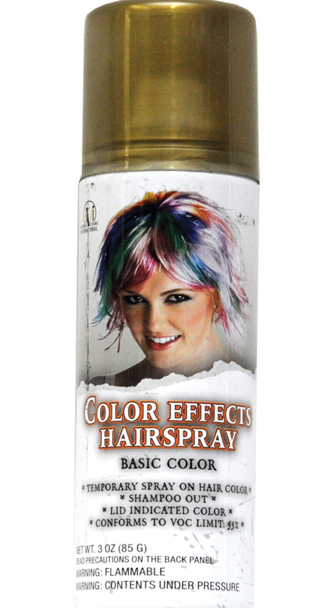 Hair Spray Gold