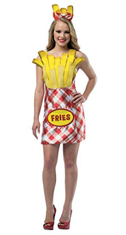 French Fry Foodie Dress Costume