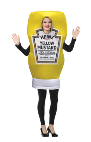Heinz Mustard Squeeze Bottle Costume