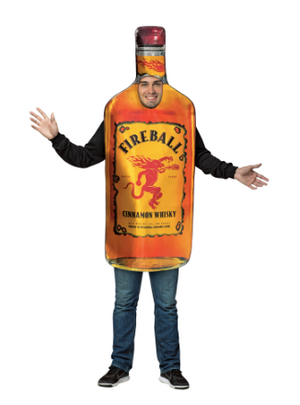 Fireball Bottle Costume
