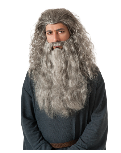 Gandalf The Grey Wig And Beard Set