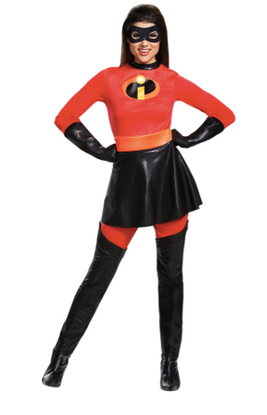 Mrs Incredible Skirt Costume