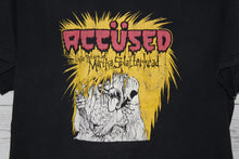 The Accused Martha Splatterhead Vintage Unisex Graphic Thrash Metal Concert Tour Band T-Shirt