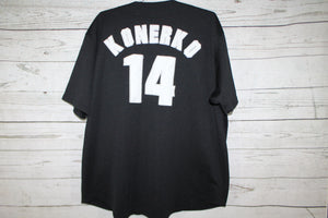 Paul Konerko Chicago White Sox Sewn Patch Button Up MLB Major League Baseball Jersey