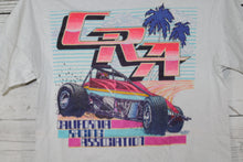 California Racing Association CRA Vintage Double Sided NASCAR T-shirt
