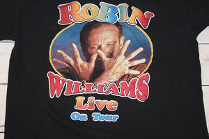 Robin Williams Vintage 2002 Concert Tour T-Shirt