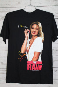 Sunny WWF RAW Vintage DEADSTOCK WWE Wrestling T-shirt