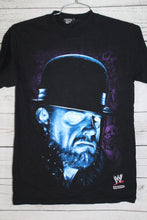 The Undertaker Glow In The Dark Eyes Vintage WWF WWE Wrestling T-shirt