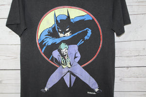 The Joker 1989 Batman Vintage DC Comics Comic Book T-shirt