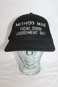 Method Man Tical 2000 Judgement Day Wu-Tang Vintage Snapback Hat