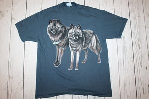 A Pair of Wolves Vintage T-shirt