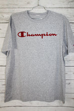Champion Velour Velvet Spell Out Logo Vintage T-shirt