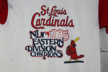 St Louis Cardinals 1985 National League Eastern Division Baseball Champions Vintage T-Shirt