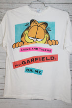 Garfield Cat Crazy at San Diego Zoo Vintage 1980s Double Sided T-Shirt