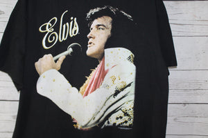 Elvis The King of Rock and Roll Vintage Double Sided T-shirt