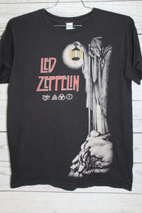 Led Zepplin Zoso Vintage Style 2014 Retro Print T-shirt