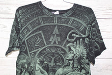 Montezuma Aztec Mexico Vintage All Over Print Double Sided T-Shirt