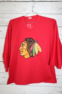 Chicago Blackhawks x Meijer Vintage Practice Hockey Jersey