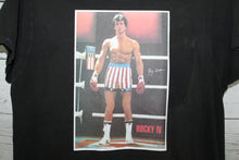 Rocky IV 1885 Sylvester Stallone Vintage Iron On Movie Promo T-shirt